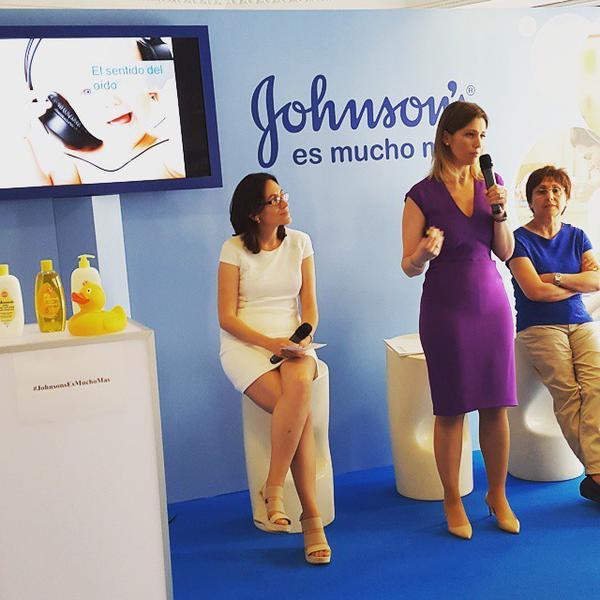 Los sentidos,  Johnsons Baby  y Silvia Álava
