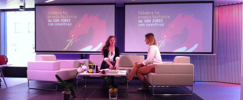 Entrevista-en-el-MWC-Telefonica - Silvia Álava