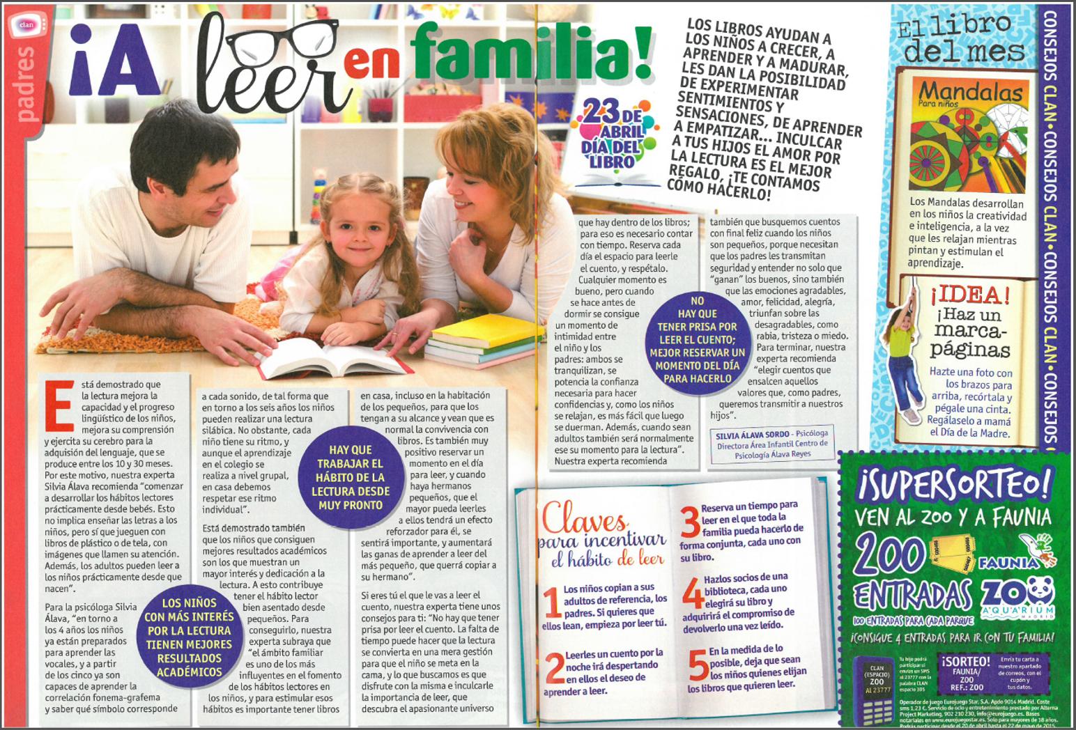 Leer en familia ClanTV