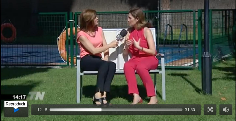 Los deberes en Telenoticias del Fin de Semana de TeleMadrid - Silvia Álava