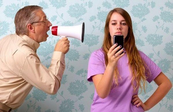 Adolescentes, Padres y Móviles