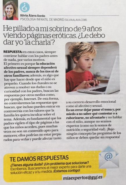 Revista Mía - Silvia Álava