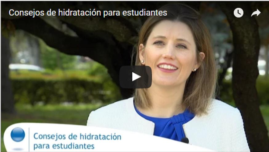 Silvia Álava - Hidratación ante los exámenes
