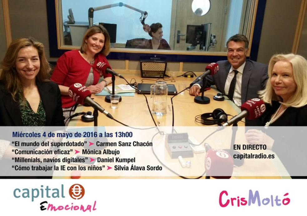 Capital Emocional 4 de mayo 16- Capital Radio - Silvia Álava