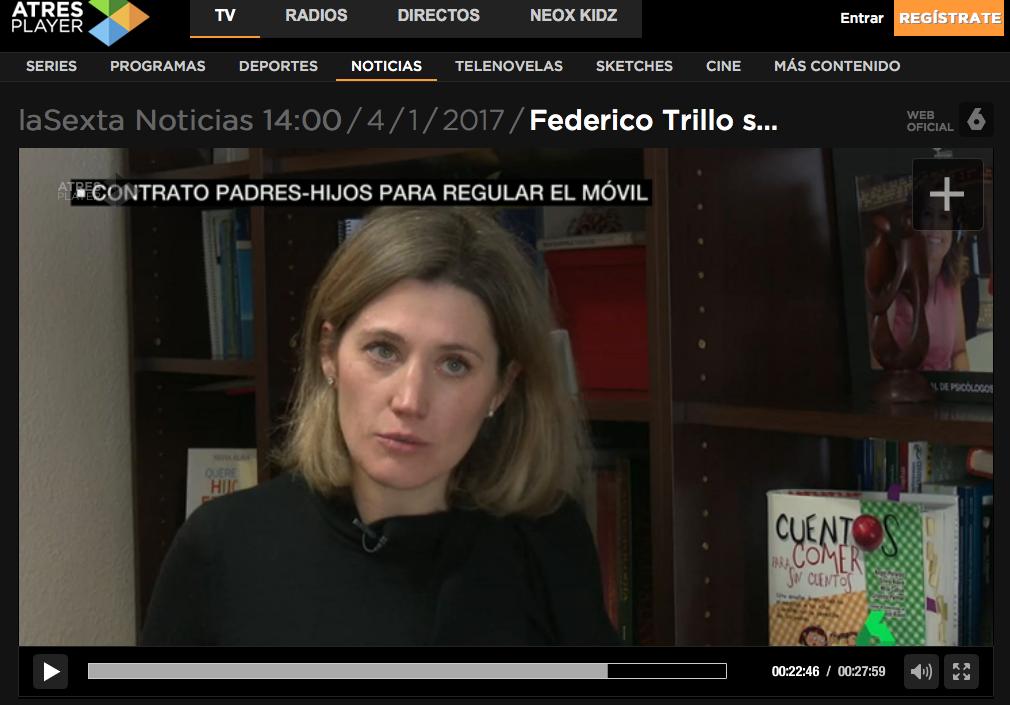 Silvia Álava en La Sexta Noticias