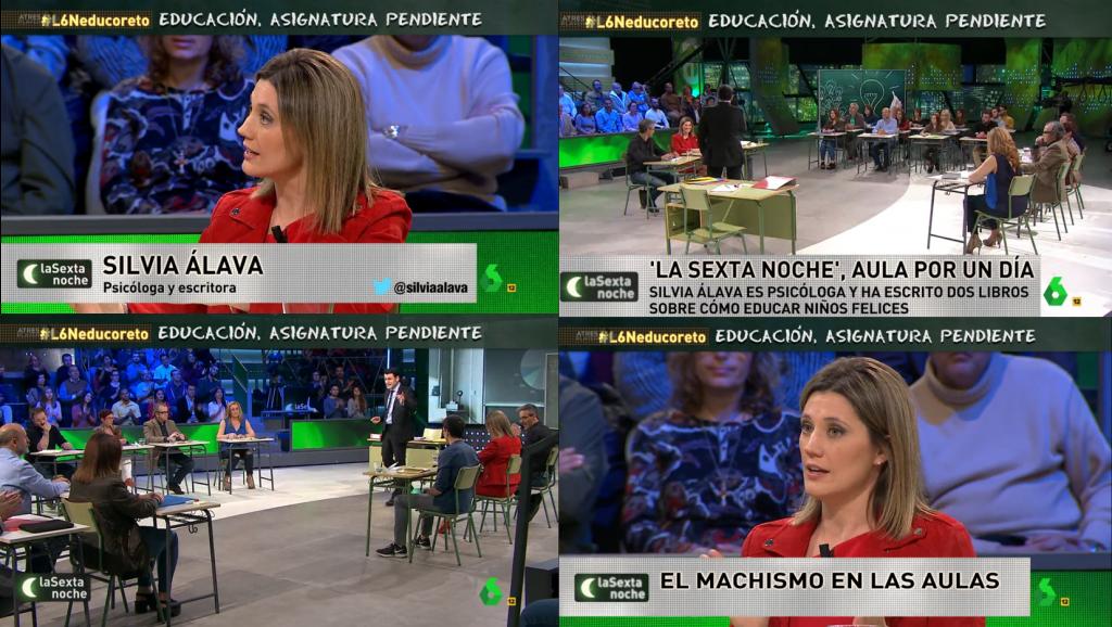 Silvia Álava La Sexta Noche Educación
