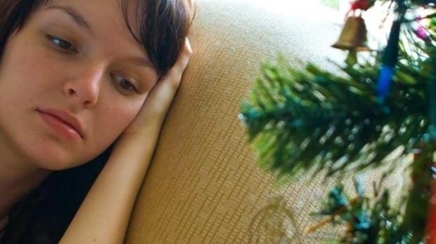Navidad tristeza, estrés, frustración