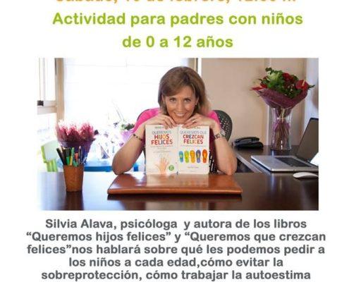 Silvia Álava en la Librería Liber