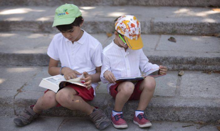 Niños, libros y lectura