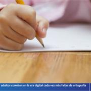Los niños y adultos cometen en la era digital cada vez más faltas de ortografía