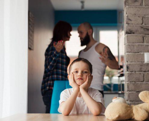 Niños ante el divorcio