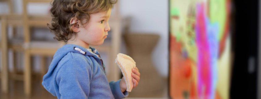 Niños tecnología pantallas