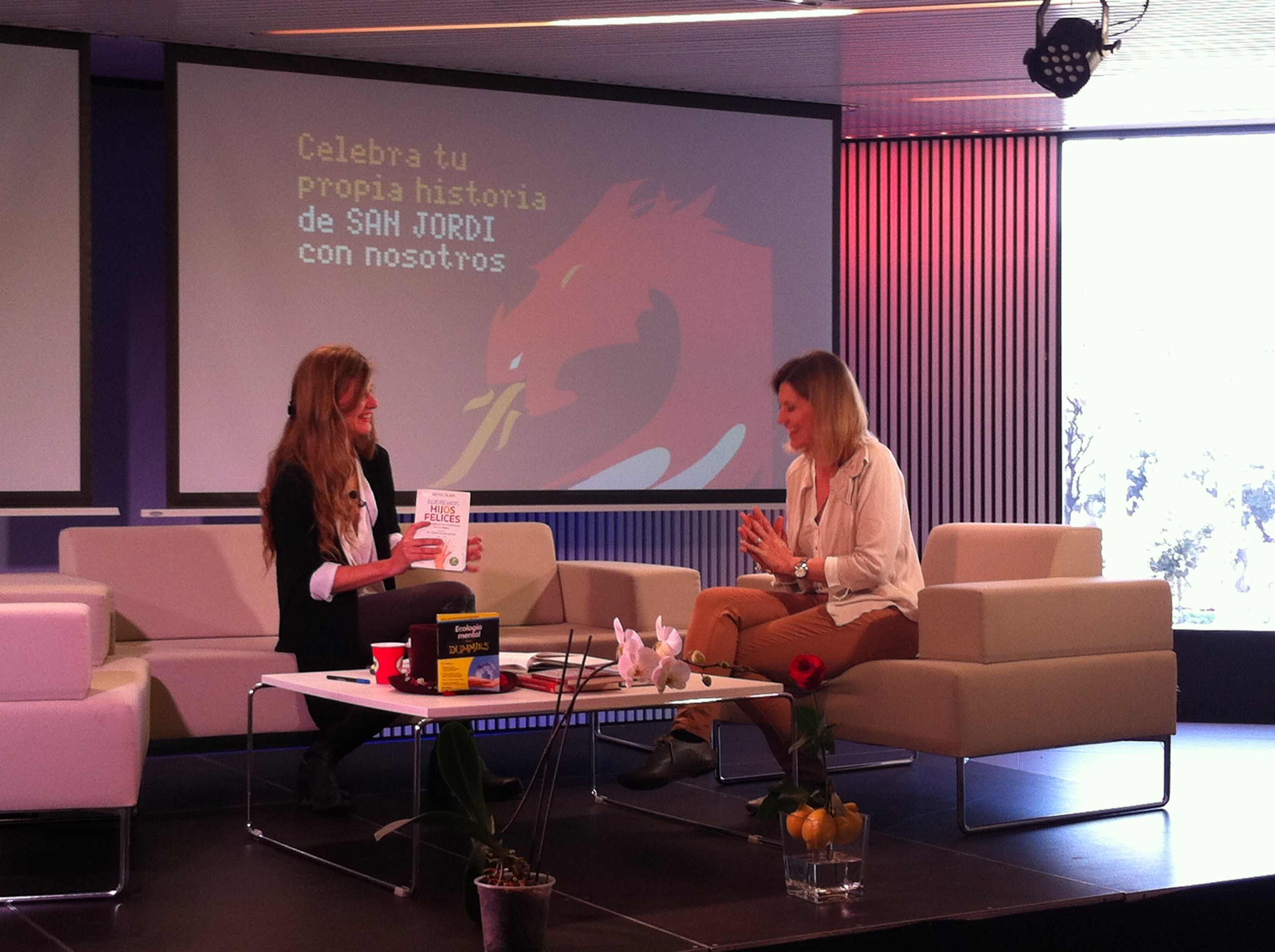 Entrevista a Silvia Álava en el MWC Telefonica