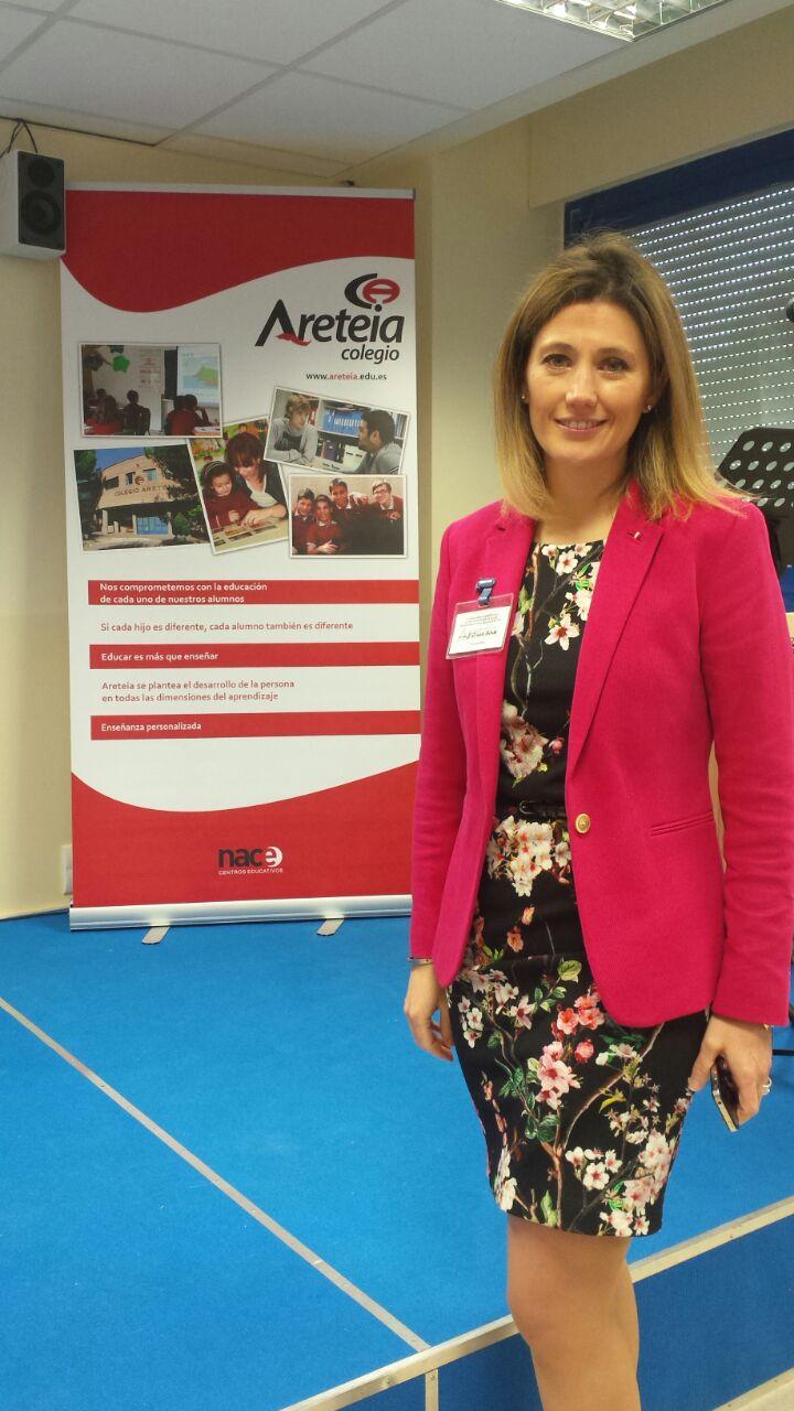 Silvia Álava en el Congreso de Educación organizado por Areteia