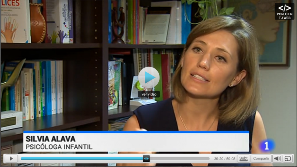 Silvia Álava - Telediario - Niños y Pantallas