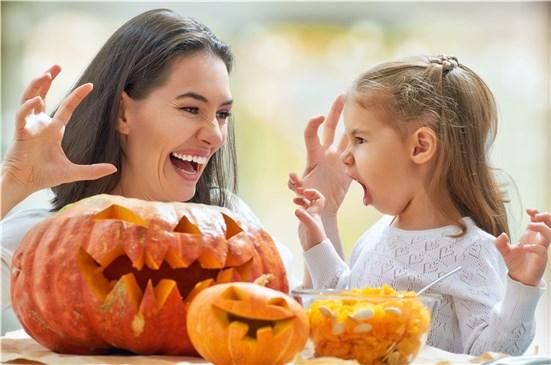 Halloween y niños