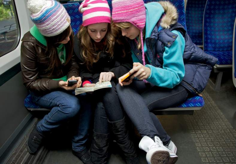 Niños y dispositivos electrónicos
