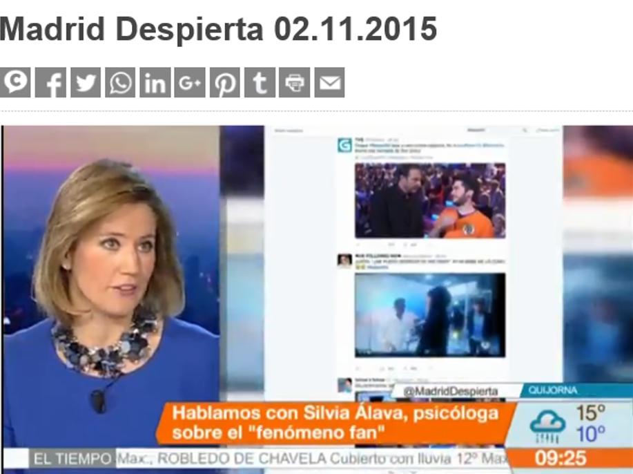 Madrid Despierta - Silvia Álava
