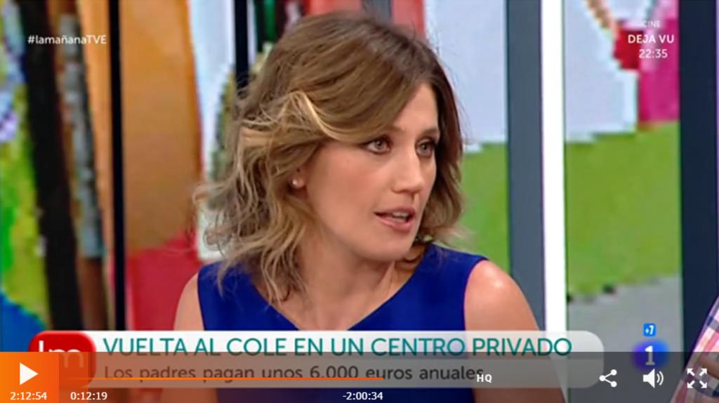 Silvia Álava - La Mañana de la 1