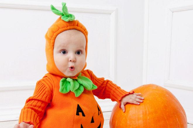Niños y Halloween