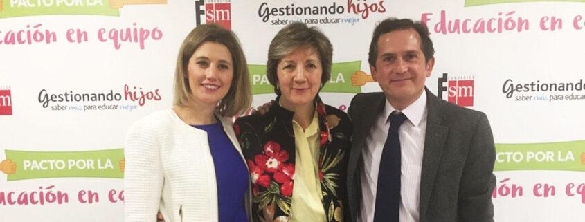 Silvia Álava - María Jesús Álava - Ángel Peralbo - Gestionando Hijos