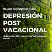 La Vuelta de las vacaciones y el estrés postvacacional