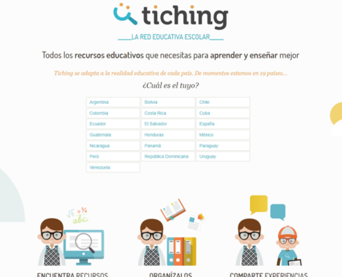 Tiching la red educativa escolar