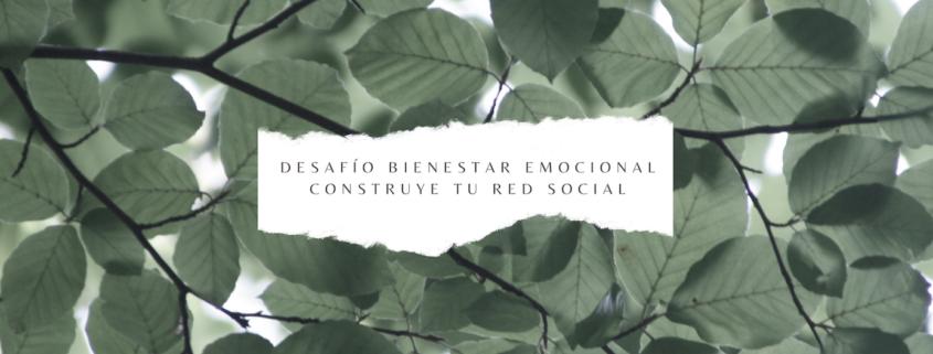 Desafío bienestar emocional: construye tu red social