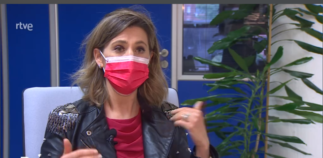 Silvia Álava Telediario 090521 - Desescalada - Fin confinamiento
