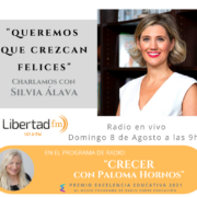 Silvia Álava Entrevista Libertad FM