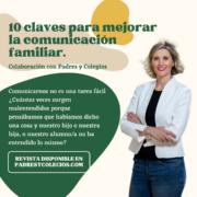 10 claves para mejorar la comunicación familiar. - Minimalist Webinar Promoting with Laptop Mockup Instagram Post (2)